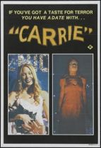 Carrie movie poster from 1976. Picture courtesy of iceposter.com